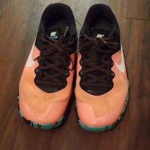 Multi colored Nike Metcon 2. Sz 9